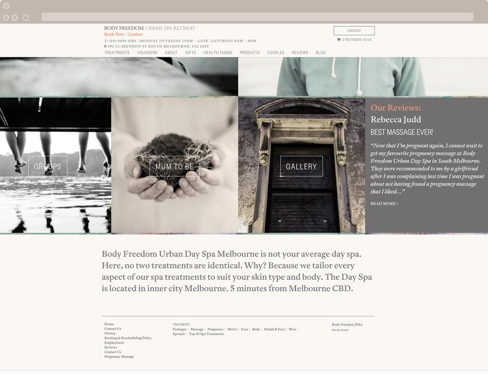 Body Freedom Website