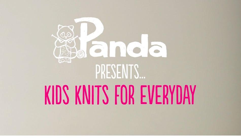 Panda Kids Knits